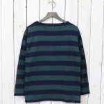 SAINT JAMES『OUESSANT-WIDEBORDER-』(NAVY/PIN)