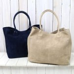 hobo『Cow Suede Leather Tote Bag』