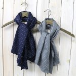 ENGINEERED GARMENTS『Long Scarf-Polka Dot Lawn』