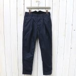 ENGINEERED GARMENTS『Willy Post Pant-High Count Twill』(Dk.Navy)