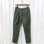 ENGINEERED GARMENTS『Willy Post Pant-High Count Twill』(Olive)