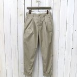 ENGINEERED GARMENTS『Willy Post Pant-High Count Twill』(Khaki)