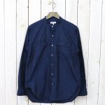 ENGINEERED GARMENTS『Banded Collar Shirt-Cotton Iridescent』(Navy)