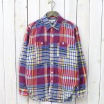 ENGINEERED GARMENTS『Work Shirt-Big Plaid』(Blue/Yellow)