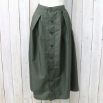FWK by ENGINEERED GARMENTS『Tuck Skirt-High Cotton Twill』(Olive)