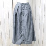 FWK by ENGINEERED GARMENTS『Tuck Skirt-Polka Dot Lawn』(Grey)