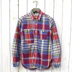 FWK by ENGINEERED GARMENTS『Work Shirt-Big Plaid』(Blue/Yellow)