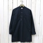 FWK by ENGINEERED GARMENTS『Banded Collar Long Shirt -CL Sheeting』(Navy)