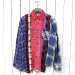 Rebuild by Needles『7Cuts Flannel Shirt』(Assorted)