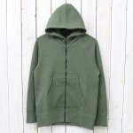 CURLY『BRIGHT ZIP PARKA』(OLIVE)
