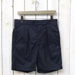 ENGINEERED GARMENTS『Sunset Short-High Count Twill』(Dk.Navy)