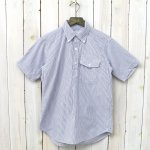 ENGINEERED GARMENTS『Popover BD-Seersucker St.』(Blue/White)