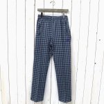 Needles『Track Pant-Poly Jacquard/Houndstooth』(Blue)