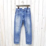 nanamica『5pockets Tapered Pants』(Bleach Wash)