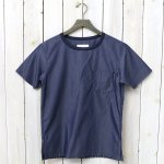 nanamica『Wind Crew Neck Shirt』(Navy)