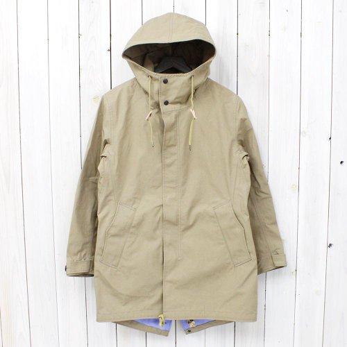 nanamica『GORE-TEX® Shell Coat』(Beige)