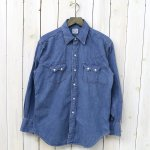 orSlow『VINTAGE FIT WESTERN SHIRTS』(DENIM USED)