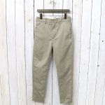 ENGINEERED GARMENTS『Cinch Pant-High Count Twill』(Khaki)