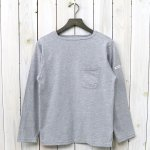 ENGINEERED GARMENTS『Bask Shirt-Solid Jersey』(Grey)
