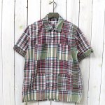 ENGINEERED GARMENTS『Camp Shirt-Big Plaid』(Olive/Navy)