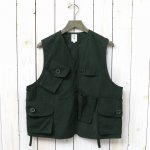 SOUTH2 WEST8『Tenkara Vest-Wax Coating』(Green)