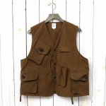 SOUTH2 WEST8『Tenkara Vest-Wax Coating』(Brown)