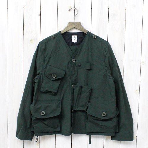 【会員様限定SALE】SOUTH2 WEST8『Tenkara Jacket-Wax Coating』(Green)