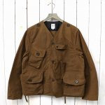 SOUTH2 WEST8『Tenkara Jacket-Wax Coating』(Brown)