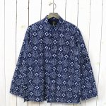 Needles『Oriental Button Unity Shirt-Ran-in-ka-fu』(Small Floral)