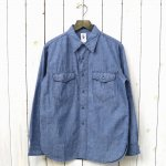 CORONA『NAVY 2 POCKET SHIRT』(BLUE)
