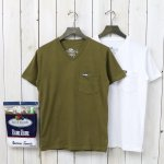FRUIT OF THE LOOM×BLUE BLUE『VN 2PACK POCKET T NO.2』(KHAKI)