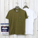 FRUIT OF THE LOOM×BLUE BLUE『CN 2PACK POCKET T NO.2』(KHAKI)
