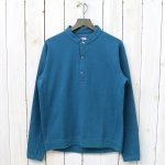 THE NORTH FACE PURPLE LABEL『Mountain Henley Neck Shirt』(Peacock Blue)