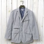 ENGINEERED GARMENTS『Andover Jacket-Seersucker St.』(Grey/White)