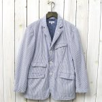 ENGINEERED GARMENTS『Andover Jacket-Seersucker St.』(Blue/White)