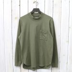 CURLY『BRIGHT MOC LS TEE』(OLIVE)