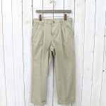 RED KAP『PC46 PLEATED FRONT COTTON PANTS-REMAKE』(KHAKI)