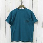 THE NORTH FACE PURPLE LABEL『H/S Logo Pocket Tee』(Forest Green)