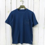 THE NORTH FACE PURPLE LABEL『H/S Logo Pocket Tee』(Teal Blue)