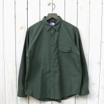 THE NORTH FACE PURPLE LABEL『Cotton Polyester OX B.D Shirt』(Sage Green)