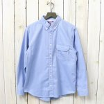 THE NORTH FACE PURPLE LABEL『Cotton Polyester OX B.D Shirt』(Sax)