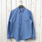 THE NORTH FACE PURPLE LABEL『Indigo Chambray Shirt』(Indigo Bleach)