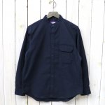 THE NORTH FACE PURPLE LABEL『Polyester Twill Stand Collar Shirt』(Navy)