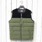 THE NORTH FACE PURPLE LABEL『Light Nuptse Vest』(Khaki)