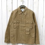 SASSAFRAS『G.D.U. JACKET(CANVAS)』(BEIGE)