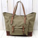 hobo『Nylon Polyester Canvas Tote Bag L with HORWEEN® Chromexcel Leather』(MOCA)