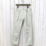 orSlow『IVY FIT PANTS 107(BEDFORD CORDS)』(IVORY)