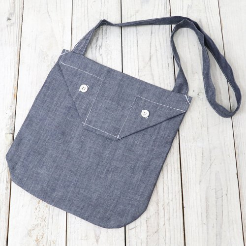 ENGINEERED GARMENTS『Shoulder Pouch-Cone Chambray』