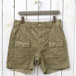 ENGINEERED GARMENTS『Ranger Short-14W Corduroy』(Khaki)