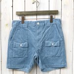 ENGINEERED GARMENTS『Ranger Short-14W Corduroy』(Lt.Blue)
